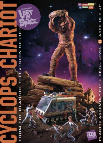 Lost in Space: Cyclops and Chariot Model Kit